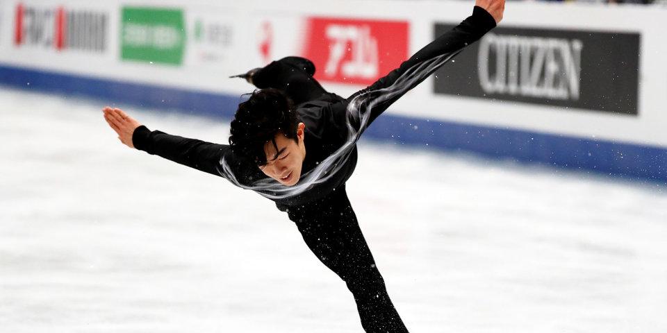 Натан Чен исполнил сальто назад на коньках и восхитил фанатов