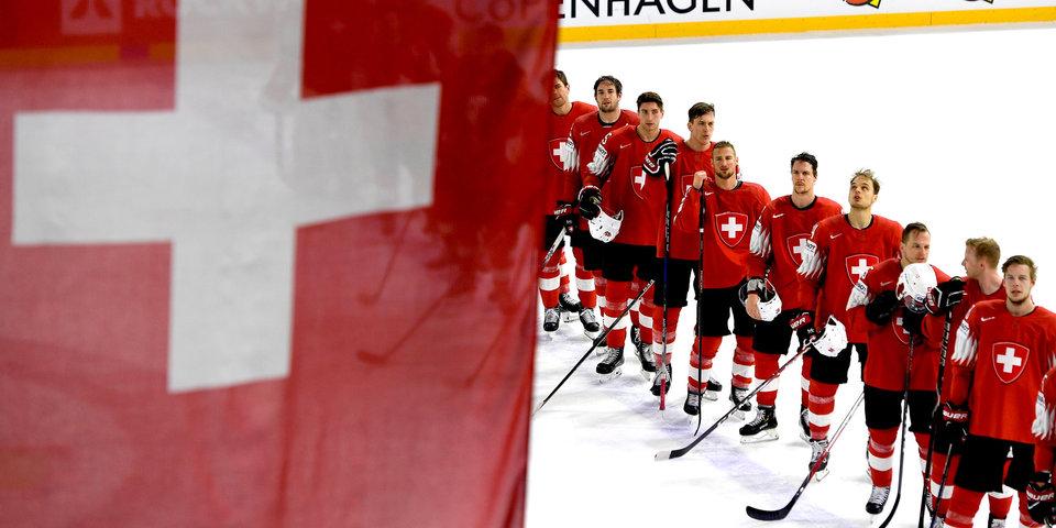 Швейцария одержала четвертую победу подряд, обыграв Норвегию на ЧМ