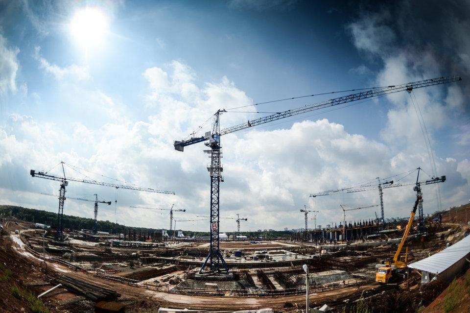 Строительство «Самара Арены» идет с отставанием в 30 дней