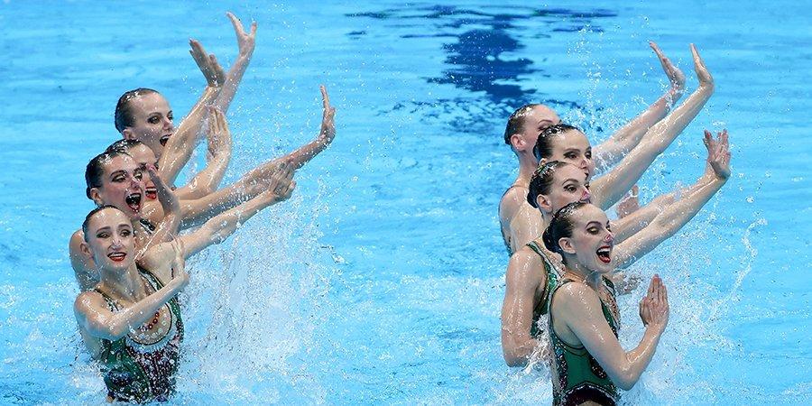 Российские синхронистки лидируют после технической программы на Олимпиаде
