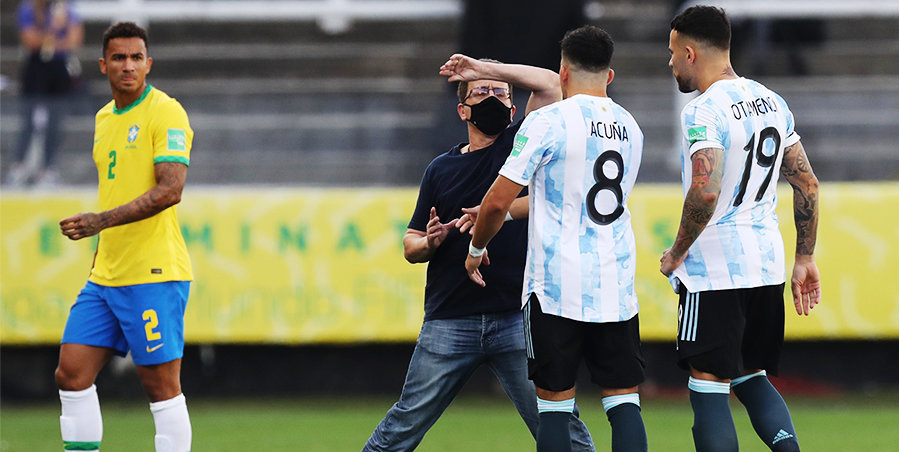 Бразильские чиновники сорвали игру с Аргентиной: все из-за нарушения ковид-протокола. Судьбу матча определит ФИФА. Главное