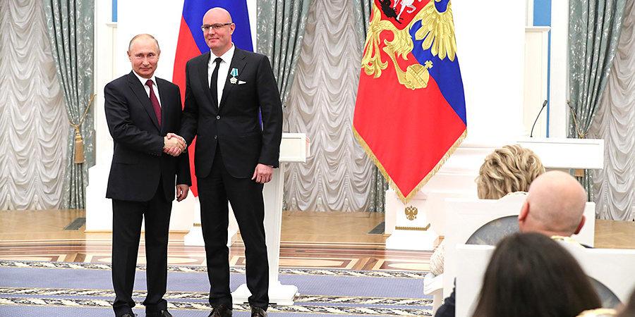 Путин вручил Чернышенко орден Дружбы
