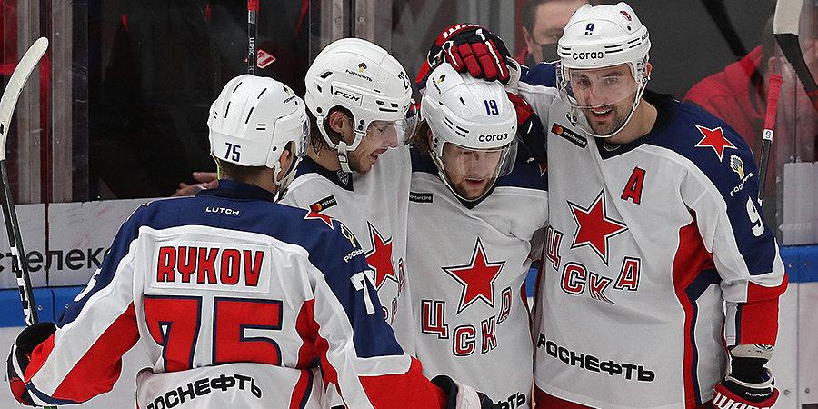 ЦСКА одержал седьмую победу подряд, в гостях обыграв «Салават Юлаев»