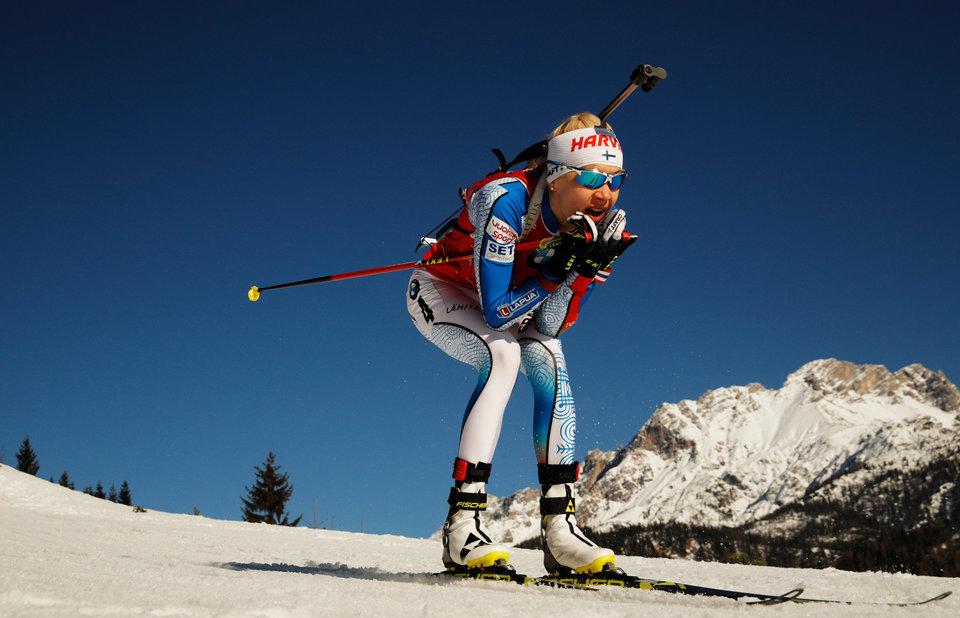Кайса Мякяряйнен: «Хорошо провела последний месяц, тренировалась на снегу»