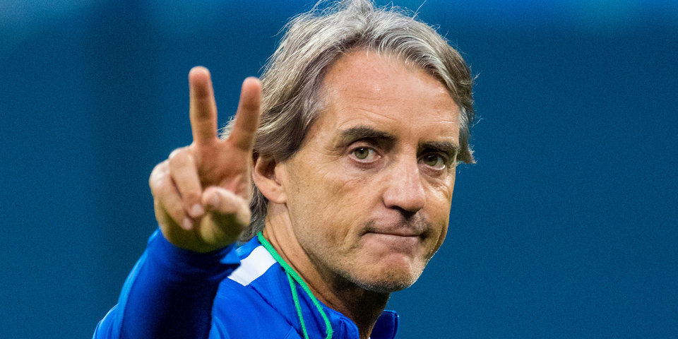 Манчини подписал контракт с Федерацией футбола Италии