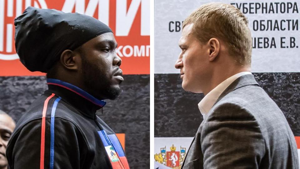 Стиверн отказался драться с Поветкиным, россиянин дисквалифицирован