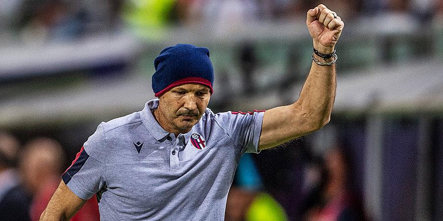 «Болонья» победила «Наполи» в первом матче после возвращения Михайловича