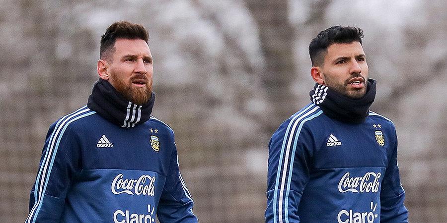 Серхио Агуэро: «Думаю, Месси останется в «Барселоне». Надеюсь сыграть с ним»