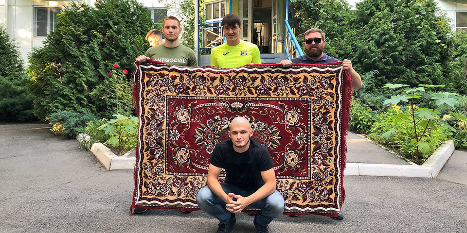«Ростов» представил «ковровый» комплект формы