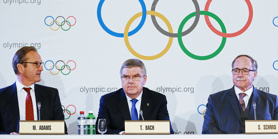 Комиссия спортсменов МОК поддержала санкции против России