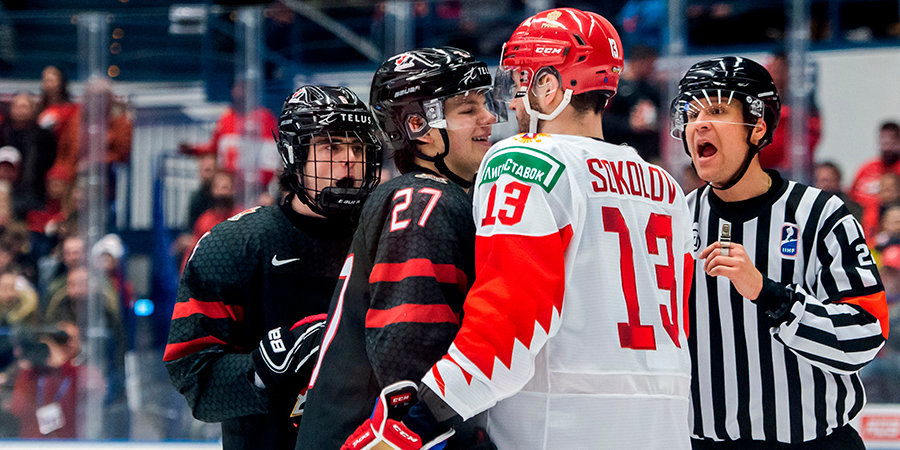 Телекамера спасла Канаду в финале МЧМ. Новый мем в хоккейном мире