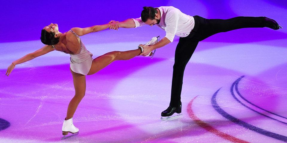Столбова и Климов лидируют после первого проката на чемпионате России