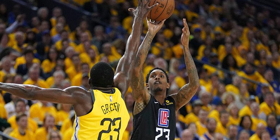 Камбэк «Клипперс» в матче с «Голден Стэйт» стал рекордным в истории плей-офф НБА