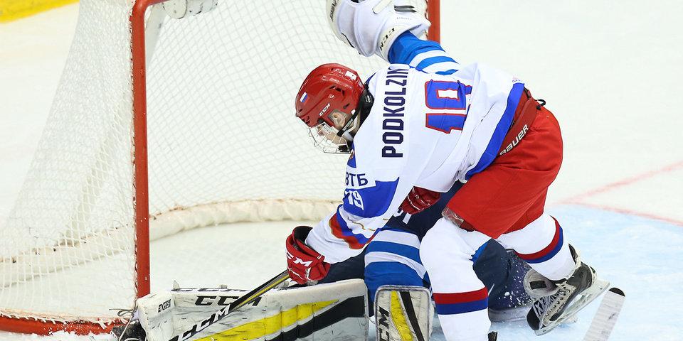 Василий Подколзин: «В России принято после матча пожать руку к судье. Так что вместо празднования с командой исполнял обязанности капитана»