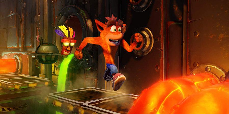 Первый талисман Sony и главный соперник Марио. Как создавался Crash Bandicoot