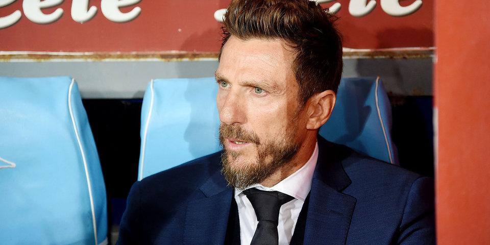 Эусебио Ди Франческо: «Был недоволен тем, что игроки расслабились»