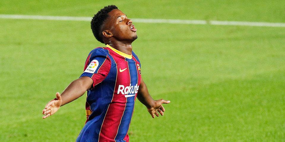 17-летний Фати вошел в историю «эль класико», став автором 400-го гола в матчах между «Барселоной» и «Реалом»
