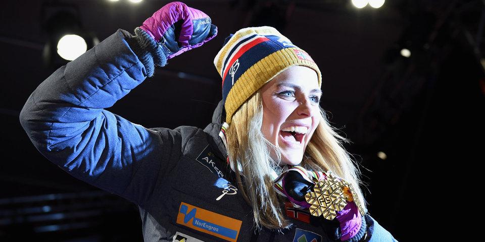 Йохауг получила Большой хрустальный глобус, Большунову трофей пока не доставили