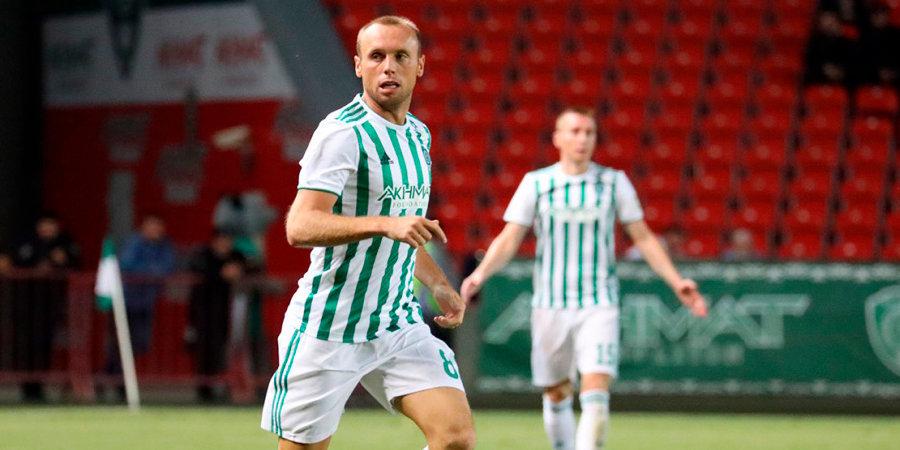 Глушаков отметился голом (почти) из центрального круга и вообще сделал дубль в Кубке. Кстати, в ворота Реброва
