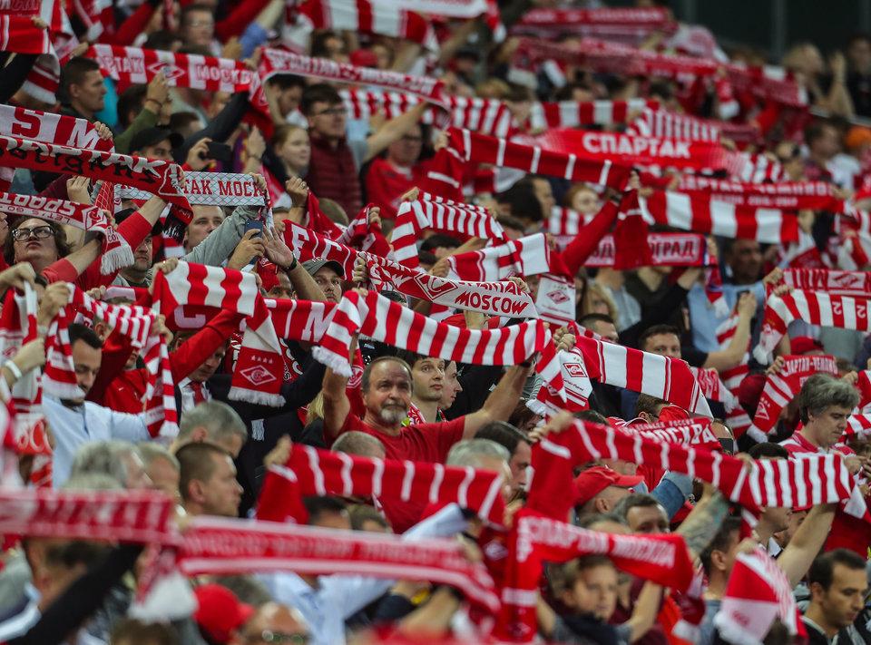 300 болельщиков поддержат «Спартак» на матче ЛЕ в Португалии