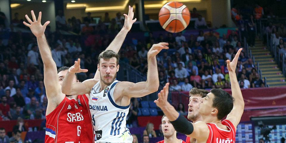 Сборная Словении впервые в истории выиграла Евробаскет