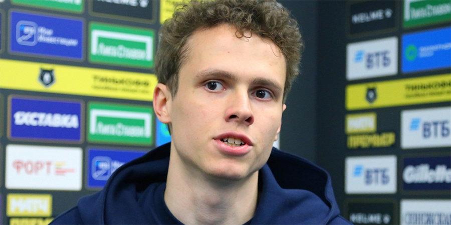 Карапузов назван лучшим игроком матча «Крылья Советов» — «Ахмат»