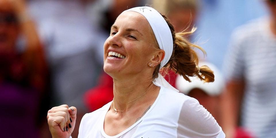 Кузнецова взлетела на 14 позиций в рейтинге WTA