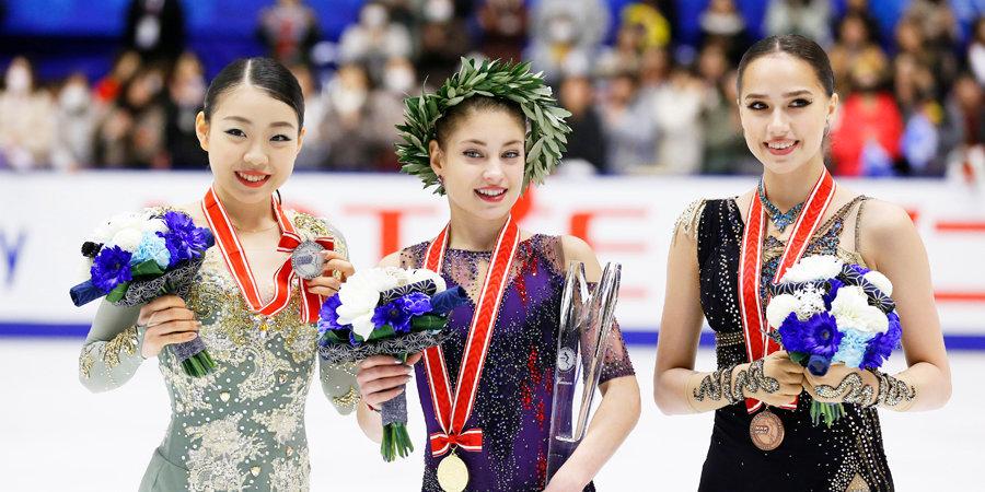 Косторная замахивается на мировой рекорд. Загитова демонстрирует чемпионский характер. Итоги гран-при Японии