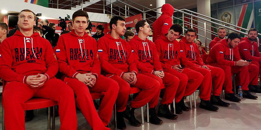 «В России с тренером общаться проще, чем в Канаде!» Что говорили хоккеисты нашей сборной перед вылетом на Евротур