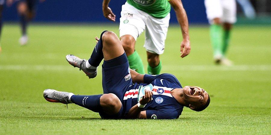 Проклятие FIFA. В травмах Мбаппе, Азара и Неймара винят обложки популярного симулятора