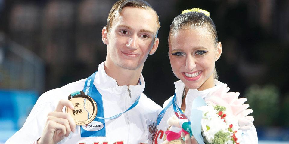 Каланча и Мальцев стали чемпионами мира в произвольной программе