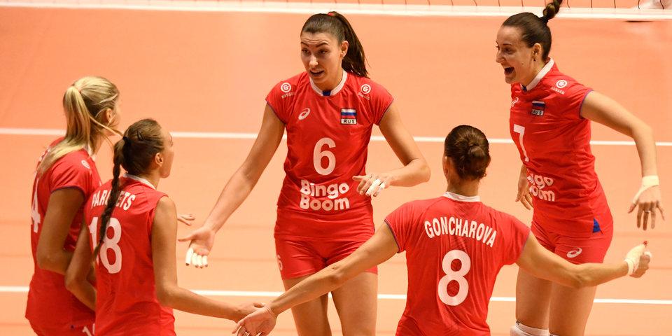 Женская сборная России одержала четвертую победу подряд на ЧМ