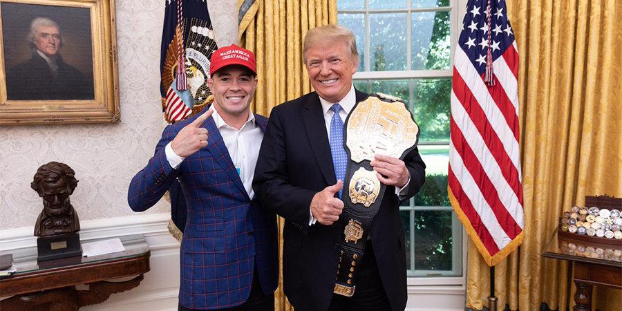 «Я видел ваши каменные руки в овальном кабинете». Дональд Трамп позвонил бойцу UFC после турнира – это попало на видео