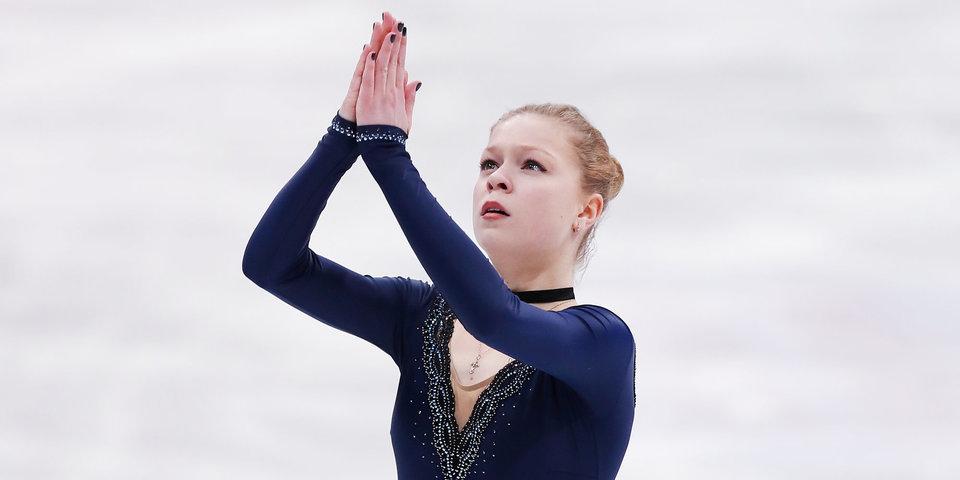 Галустян рассказала, из-за чего снялась с ЧМ по фигурному катанию