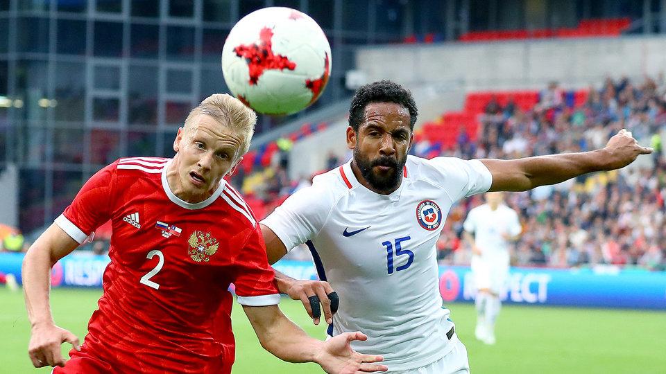 Россия и Чили сыграли вничью в Москве