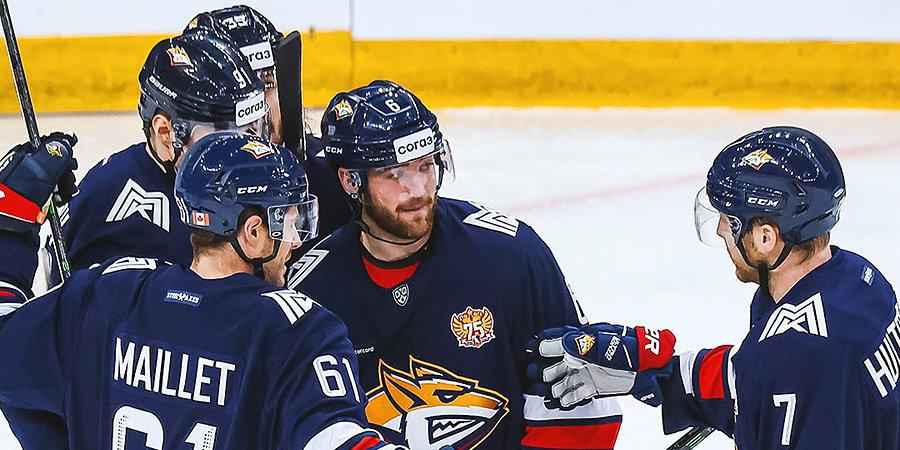 «Металлург» одержал 13-ю победу подряд и повторил клубный рекорд по длительности победной серии в КХЛ