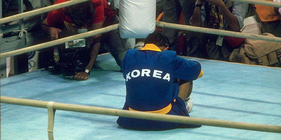 Рефери били по голове, вырвали клок волос — он сбежал с Олимпиады. Вспоминаем боксерский скандал в Сеуле-88