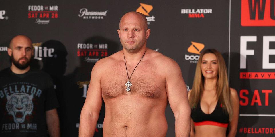 Емельяненко не будет смотреть второй полуфинал турнира Bellator