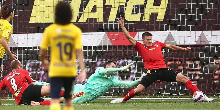 «Ростов» упустил победу над «Химками» в первом матче под руководством Семина