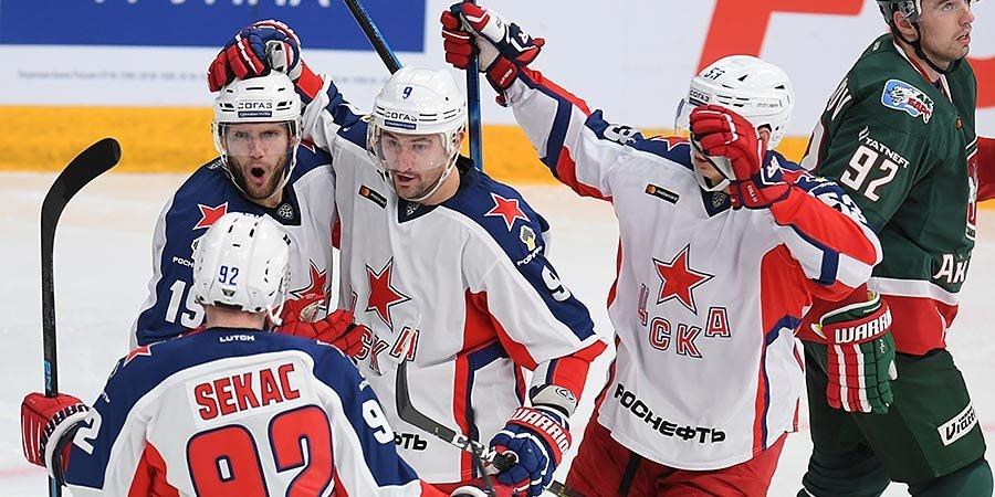 Отставка Величкина, лидерство ЦСКА, прорыв «Йокерита». Итоги недели в КХЛ
