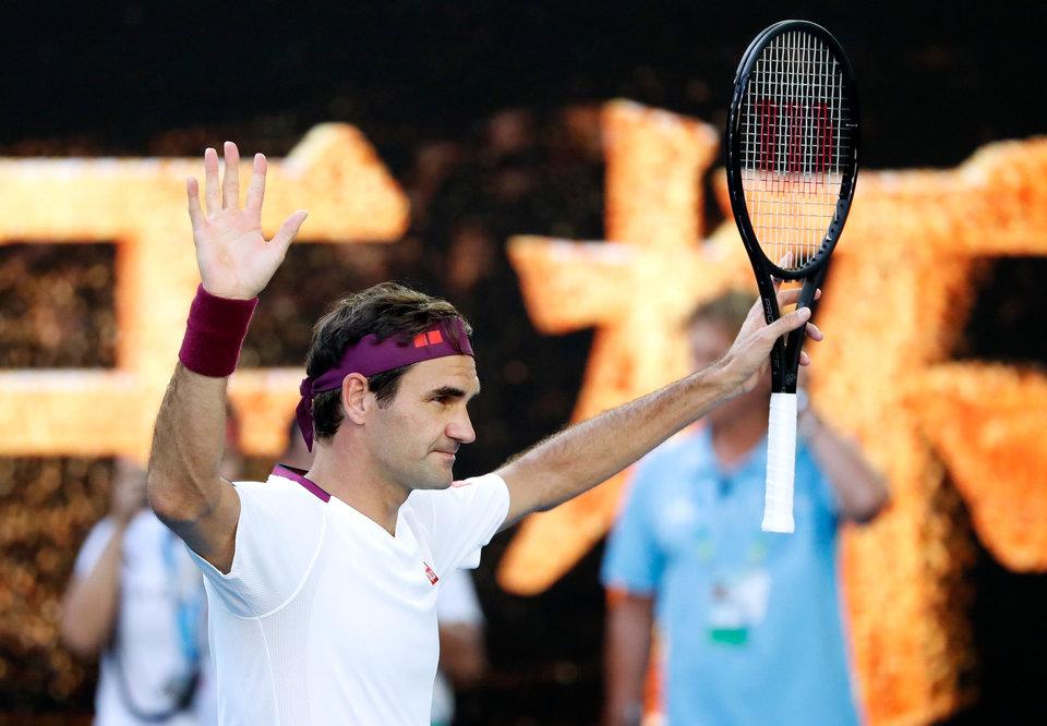 Федерер рассказал об увлечении теннисом в детстве