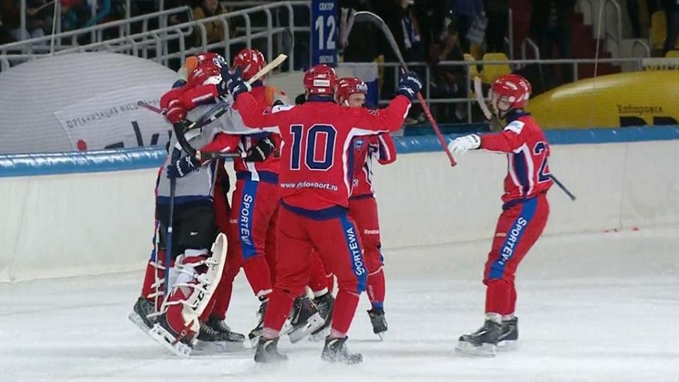 Россия с победы стартовала на чемпионате мира в Швеции