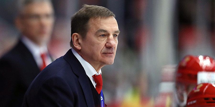 Брагин заявлен как старший тренер СКА на матче с минским «Динамо»