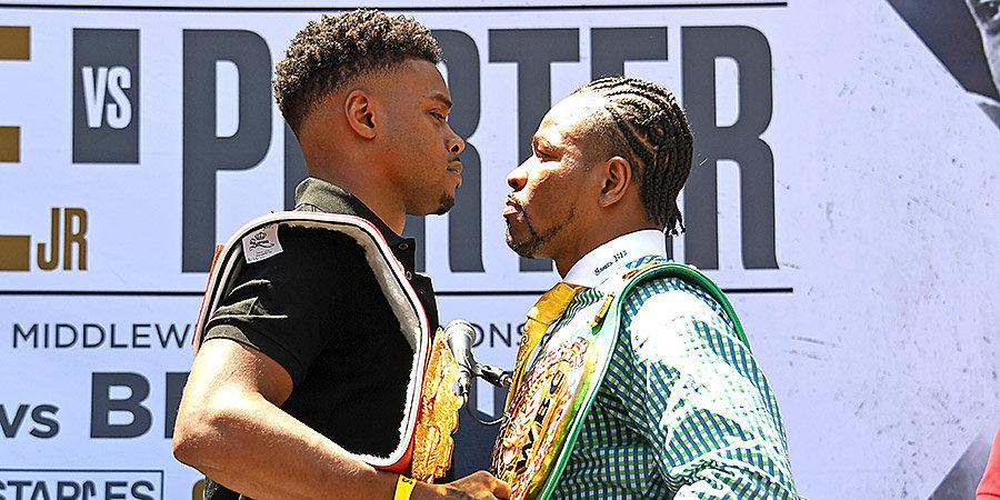 Чемпион IBF Спенс завоевал титул WBC, победив Портера