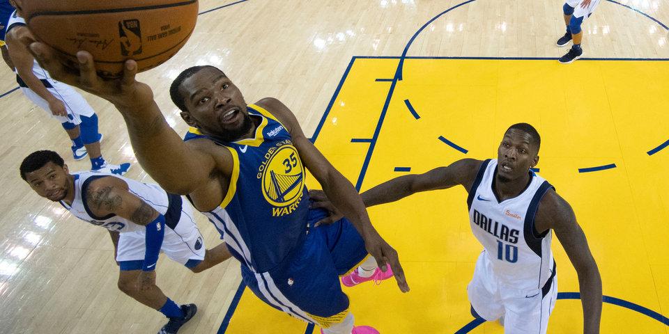 Дюрант поднялся на 10-е место по результативности в плей-офф НБА
