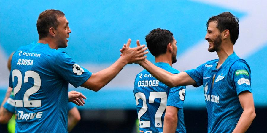 «Зенит» забил «Енисею» четыре мяча в последнем туре РПЛ, «Динамо» на новом стадионе сыграло вничью с «Арсеналом»
