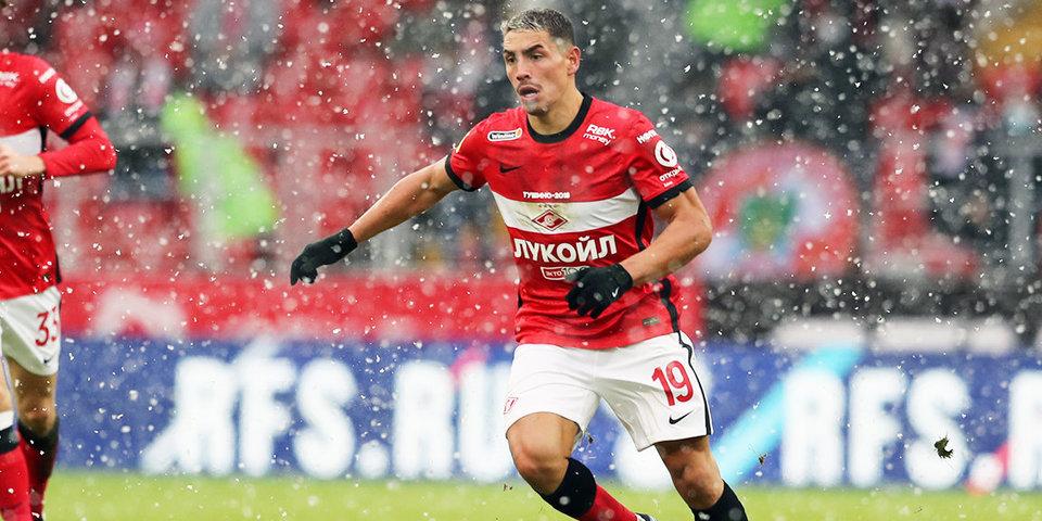 Эсекель Понсе: «Были предложения от других клубов, но мне все нравится в «Спартаке»
