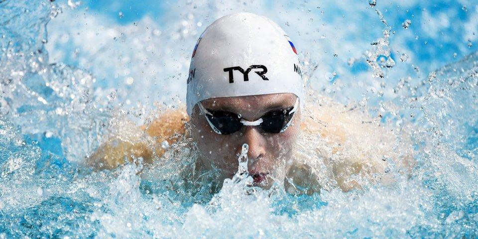 Минаков вышел в финал на 100 метров баттерфляем
