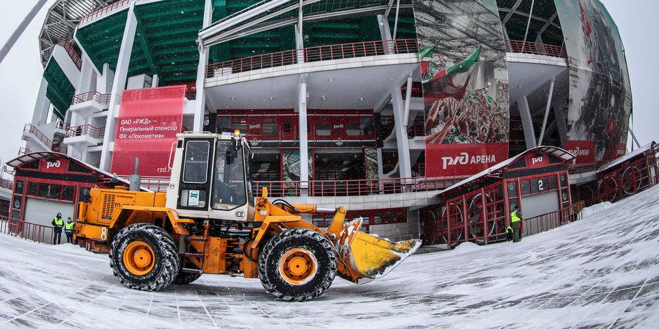 Снегопад пытался сорвать столичное дерби. Как это было