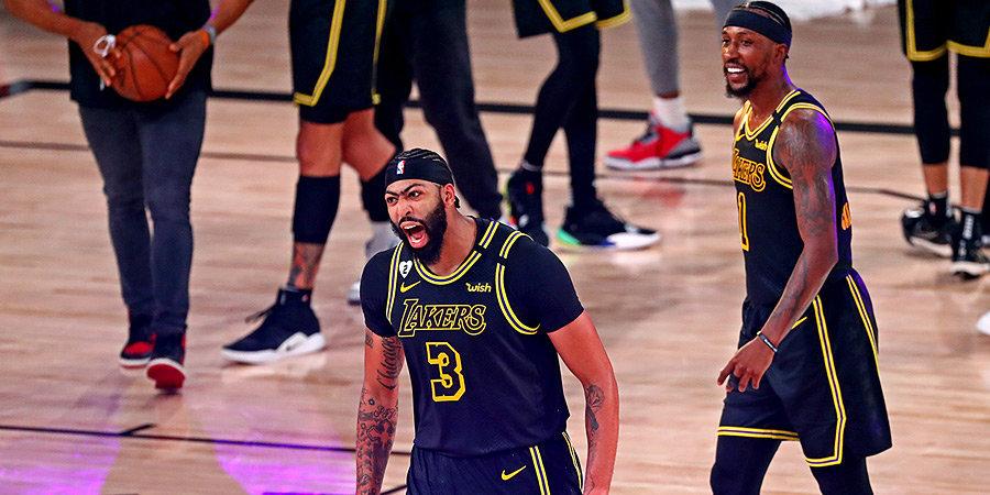 «Лейкерс» – в двух шагах от финала НБА. Дэвис забил победную треху с сиреной с криком «Коби!»